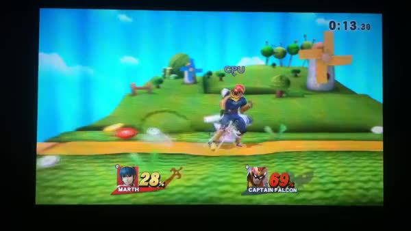 "Smash 4 ""Dashdancing"" with Marth (watch the WHOLE thing)"