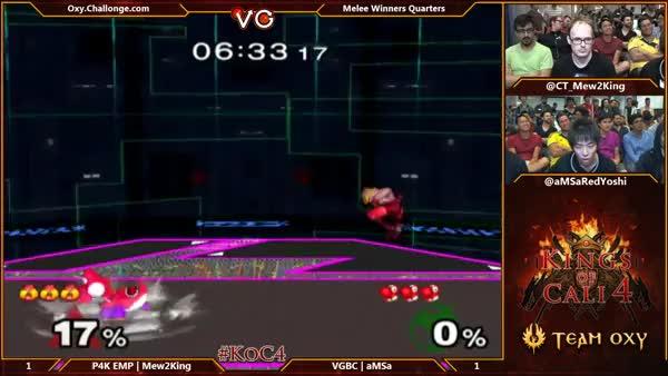 aMSa's neutral B game