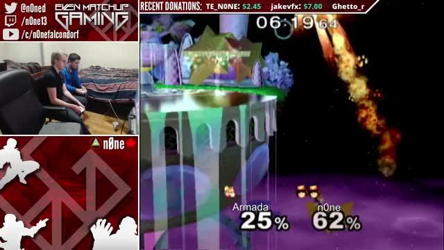 n0ne techs Armada's forward smash