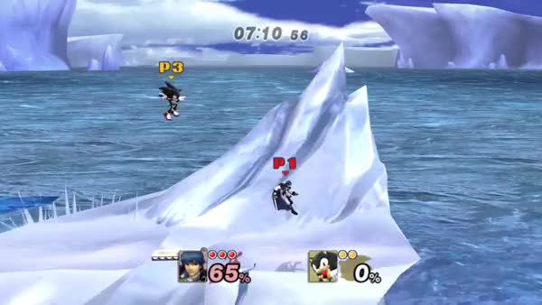Oh…. oh no! Infinite Glacier can be dangerous!