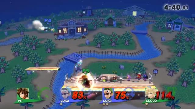 Luigi gets some sweet, sweet revenge