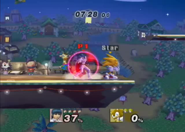 All optimal Sonic combos end with the dair spike (Two more combos in the comments!)