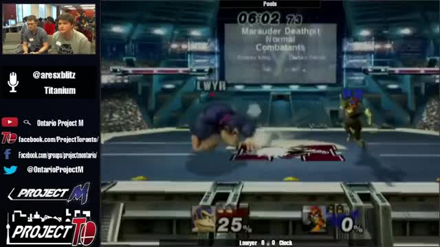 Custom DK Combo by Lawyer at Smash the Ice