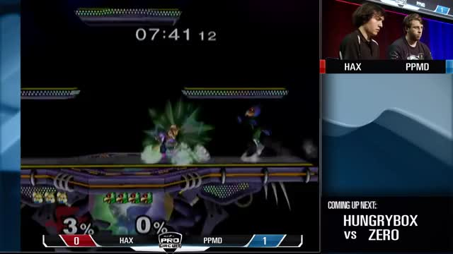 PP takes two quick ones from hax