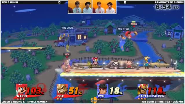 I did Falcon thing on stream