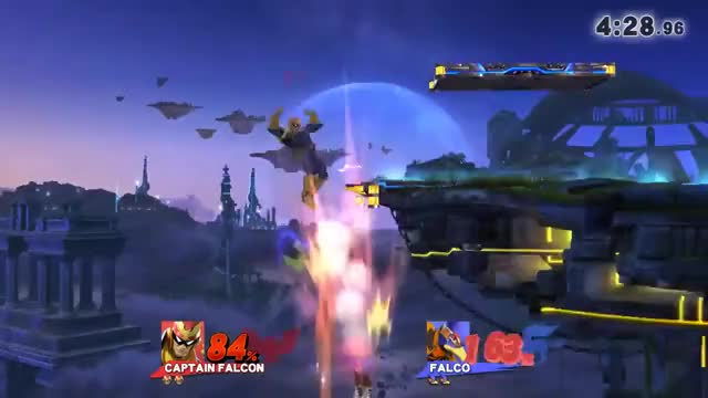 Falcon showing Falco he can't fly