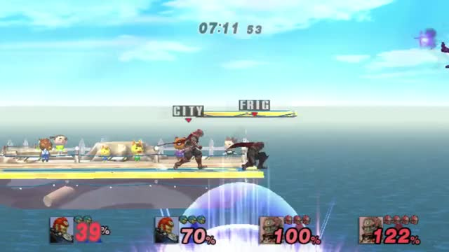 Synchronized Ganon Team on Netplay