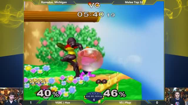 [Hax vs Plup] Edgeguarding Samus is an involved process