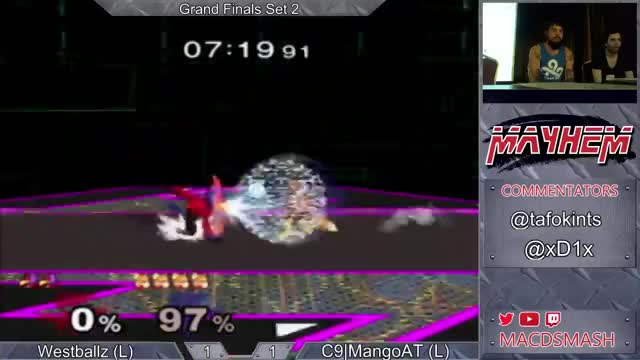 Mango Combos Westballz at Mayhem