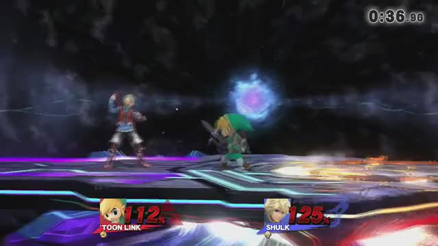 Shulk steals from Toon Link