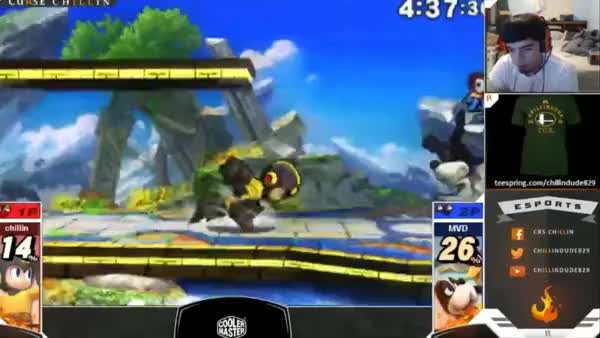 I've probably landed Megaman's dair as a spike like 10 times total… here's 3 of them