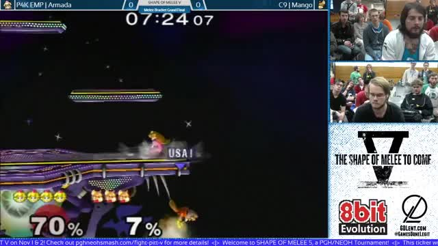 Armada's stitchface technology (vs C9 Mang0 at SoM V, video below)
