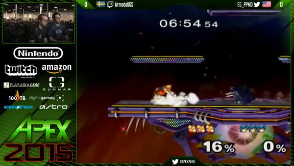PPMD punishing getup attacks with perfect dash spacing