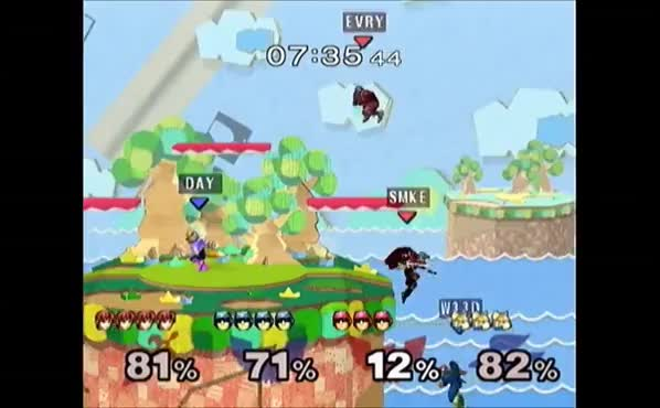 Lord's triple Falcon Punch