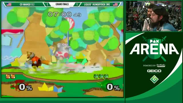 Mang0 and H-Box accidentally enable slow-mo during finals