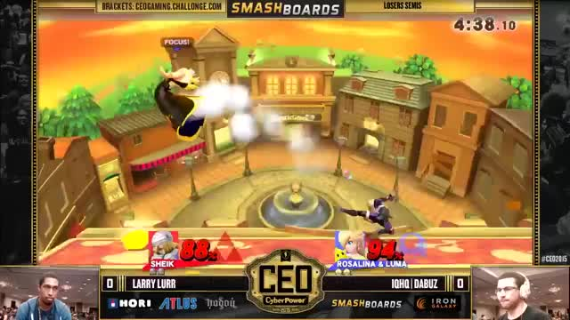 Larry Lurr's Nice Kill on Dabuz – CEO Top 8