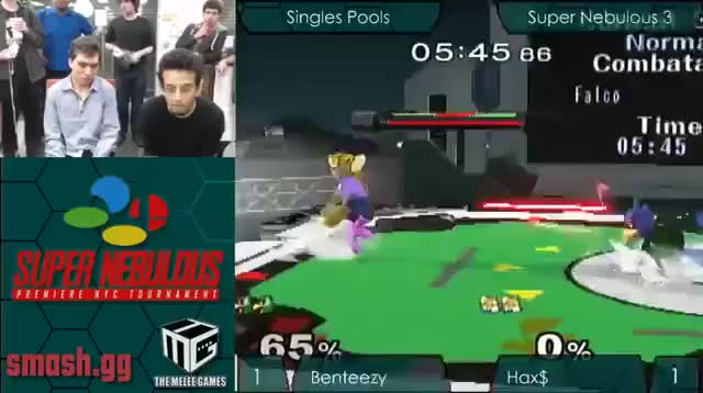 Hax with the footsies to take away Benteezy's stock
