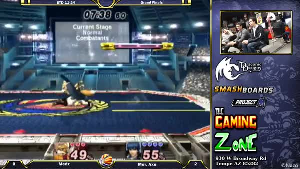 Axe gets a disgusting string on Medz in their grand finals set
