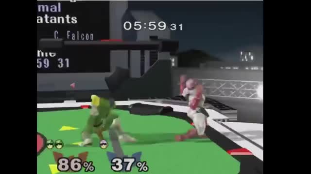 Falcon Punch Edgeguard