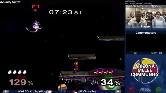 Taj reminds PC that Mewtwo is still a character