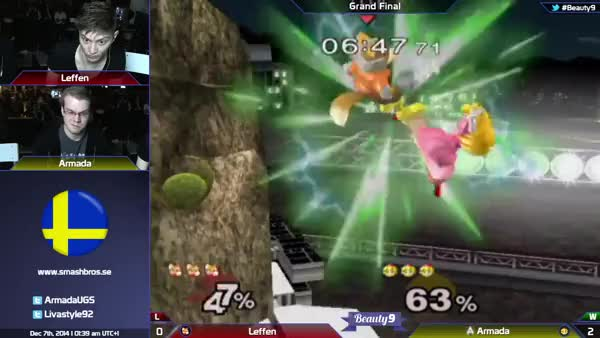 Armada putting Leffen in the meat grinder