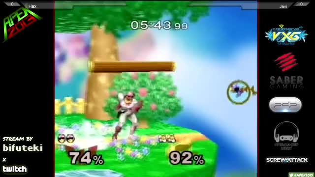 Hax's Falcon with the smoothest moonwalk – bair you'll ever see