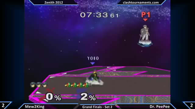 PPMD reads M2K's double jump fade away fair for a clean pillar combo on Final Destination