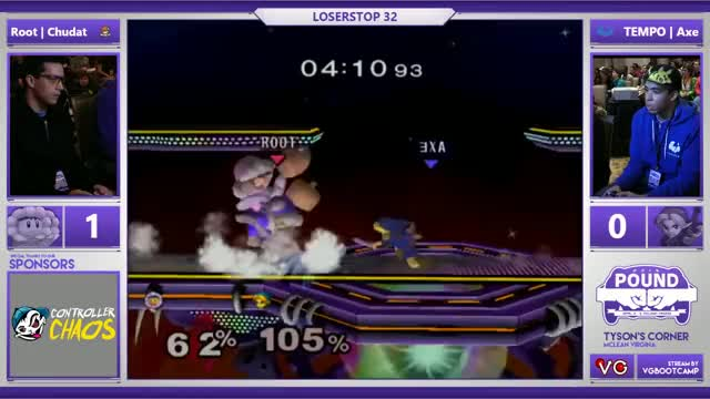 Axe with the SICKEST boomerang read against ChuDat