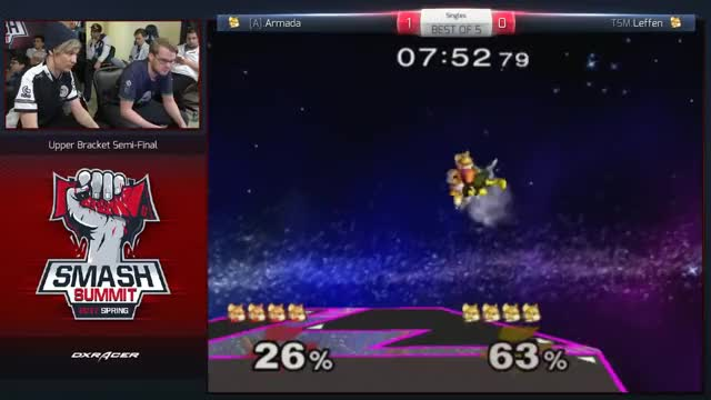 Armada with two quick ones