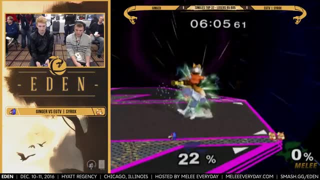 Ginger with a brutal combo on FD against Syrox