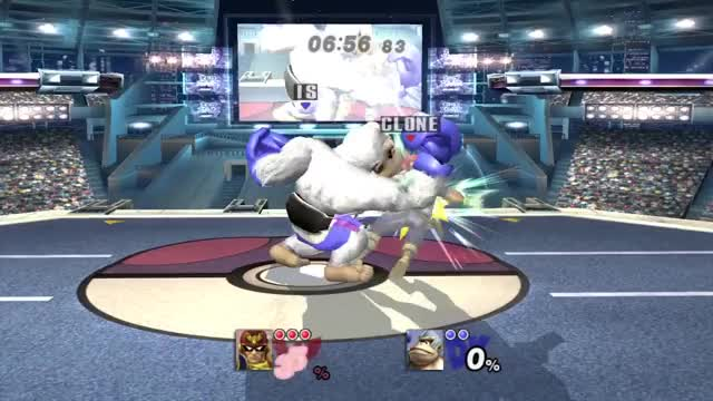 To one edge of the stage back to the other – with extra disrespect (x-post /r/ssbpm)