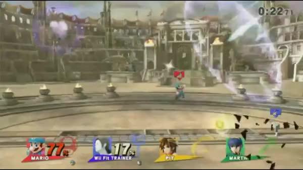 PewPewU's Mario combo