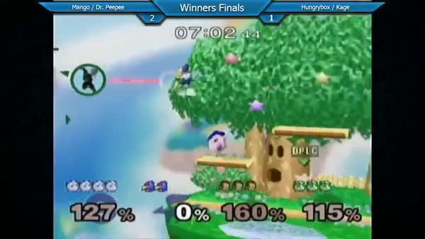 Crazy doubles edgefight