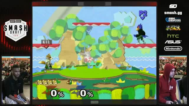 DruggedFox reminds KJH of why he hates Falco
