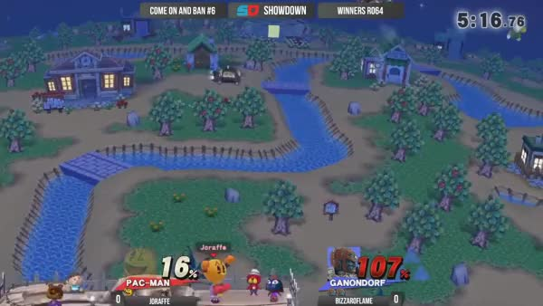 Smash 4 BizzaroFlame tech chase