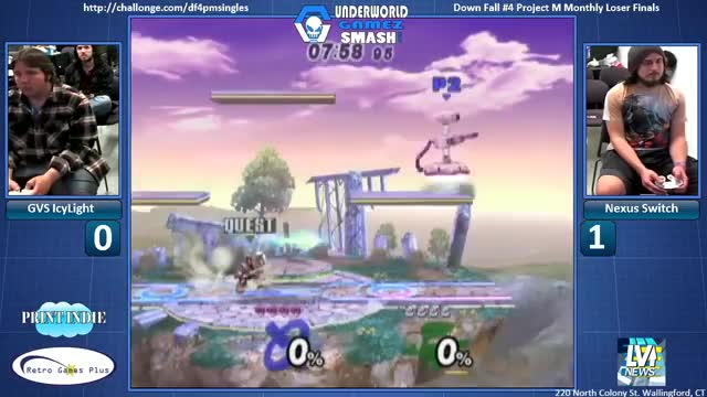 A daring Wolf combo by Switch