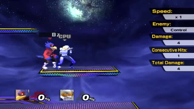 Falco's platform cancel dair is pretty cool