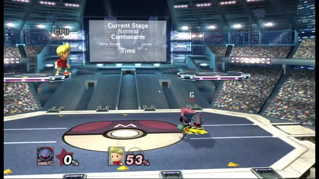 Meta Knight's edge cancelled turned around Down b Shenanigans (Apologies if already explored)