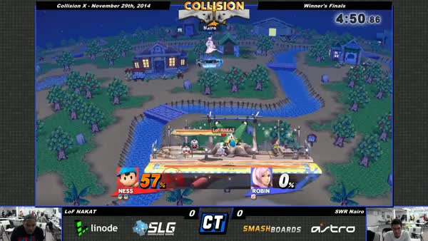 Aggressive Smash 4 Edge Guarding
