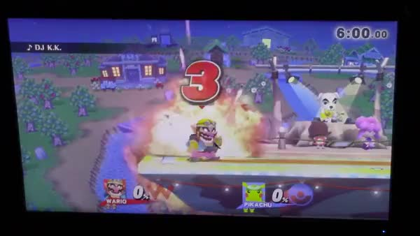 ESAM gets a stupid combo. RIP Wario.