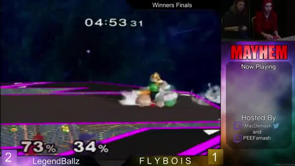 Fly Amanita with a clutch last stock SoPo edgeguard on Westballz