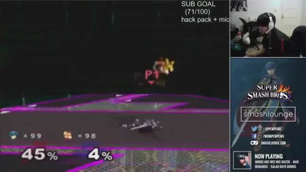 PewPewU getting destroyed on his stream
