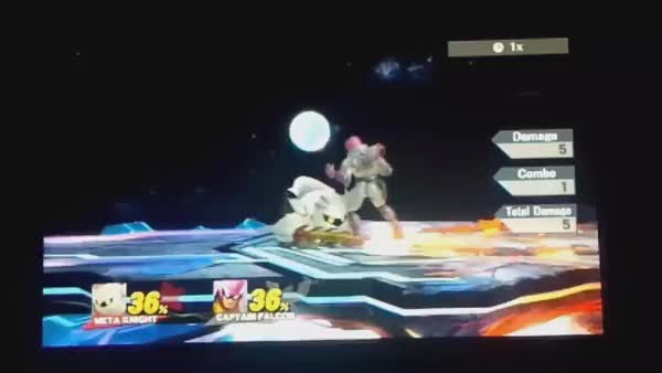 If you still think metaknight sucks on sm4sh let me remind you that THIS is a thing