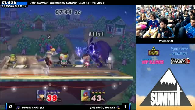 Ally becomes another victim of Falco side-b