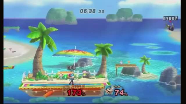 Level 9 Luigi is a jerk