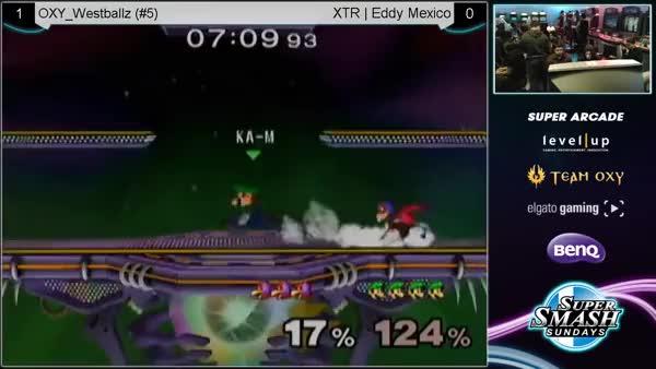 [Luigi] Eddy Mexico sends Westballz to the shadow realm