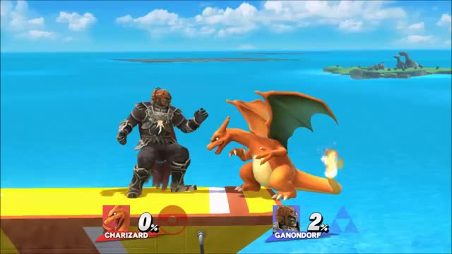Charizard's grab is pretty bad