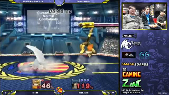 Axe's nice combo on Medz in Grand Finals