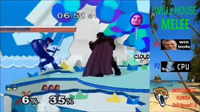 Ganon stomps Marth into the Shadow Realm