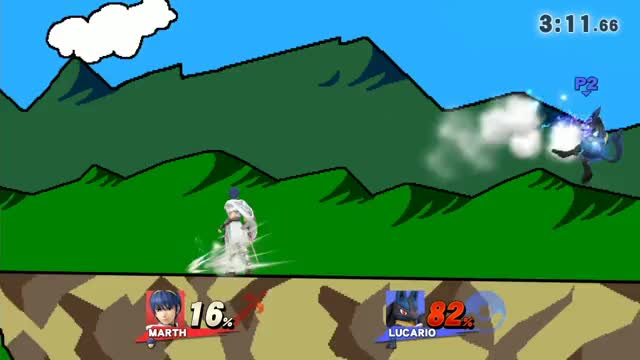 For the Marth players out there, Wavebouncing your Shield Breaker can lead to some fun times: